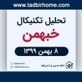 تحلیل تکنیکال نمودار خبهمن 8 بهمن ماه ۱۳۹۹